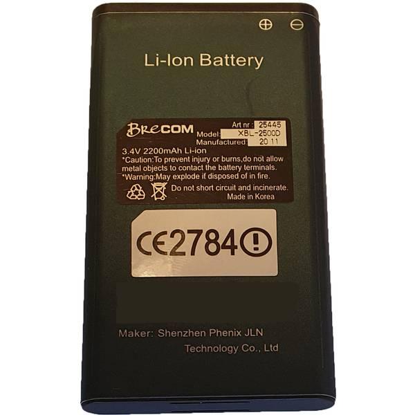 Bilde av 10254450- -Batteri for Brecom VR-2500 2200mAh