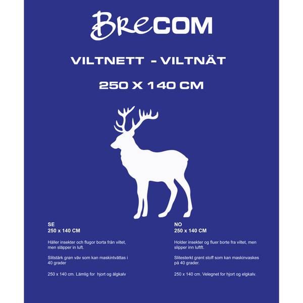 Bilde av VN-250- -Brecom viltnett. Hjort/elgkalv. 140X250