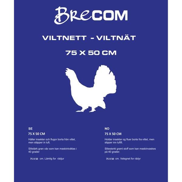 Bilde av VN-75- -Brecom viltnett. Fugl/hare. 75x50 cm